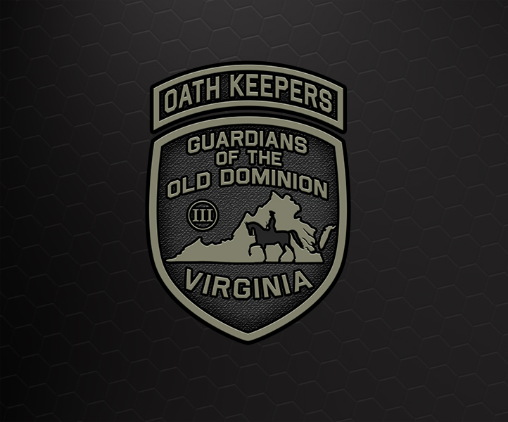 New Virginia Oath Keepers Logo