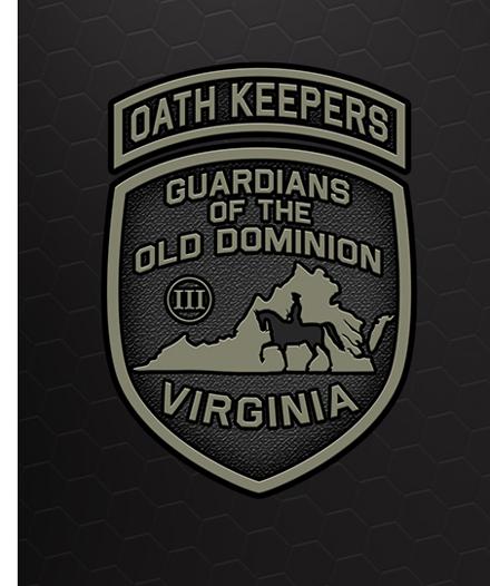 New Virginia Oath Keepers Logo